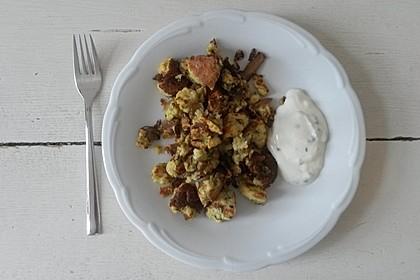Gemüseschmarren mit Knoblauchdip 39