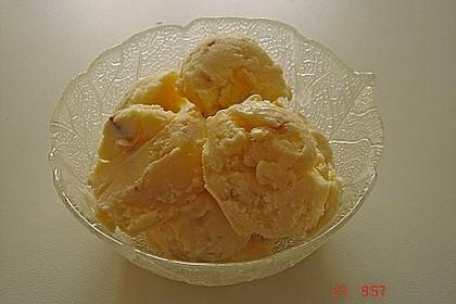 Marshmallow - Macadamia - Eiscreme
