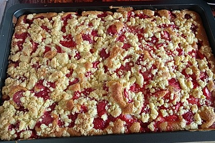 Erdbeer - Streuselkuchen