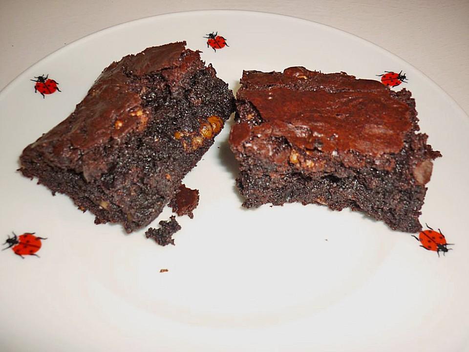 brownie rezept aus amerika rezept mit bild von schteffi86. Black Bedroom Furniture Sets. Home Design Ideas