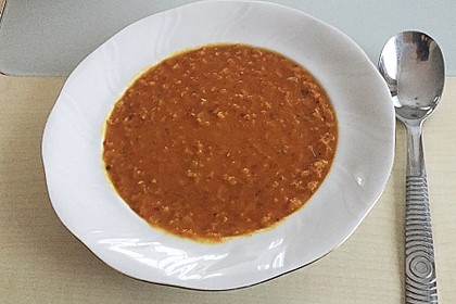 Rote Linsen - Kokos - Suppe 30