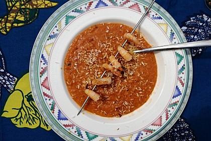 Rote Linsen - Kokos - Suppe 32