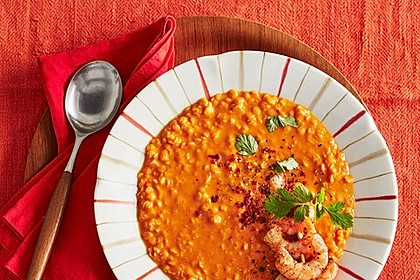 Rote Linsen-Kokos-Suppe 6