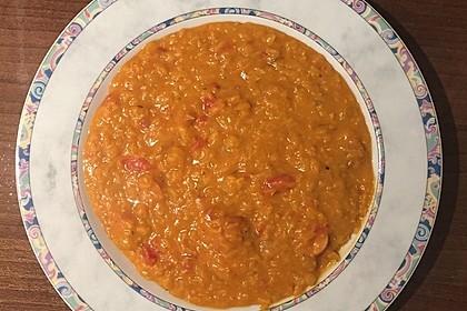 Rote Linsen-Kokos-Suppe 46