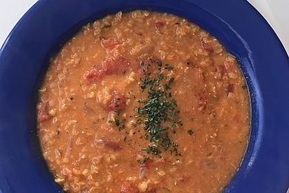 Rote Linsen-Kokos-Suppe 38
