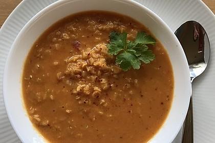 Rote Linsen-Kokos-Suppe 57
