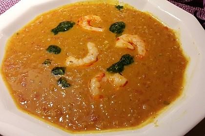 Rote Linsen-Kokos-Suppe 25