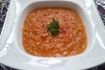 Rote Linsen-Kokos-Suppe 9