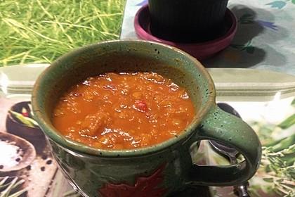 Rote Linsen-Kokos-Suppe 26