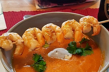 Rote Linsen-Kokos-Suppe 5