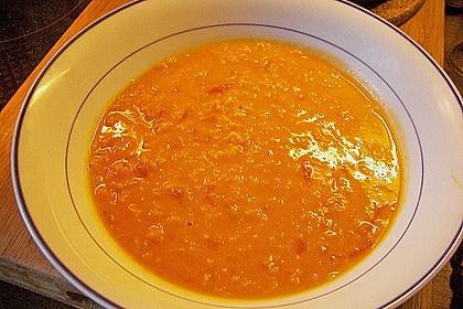 Rote Linsen-Kokos-Suppe 33