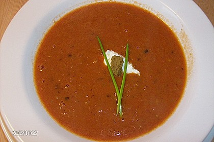 Rote Linsen-Kokos-Suppe 31