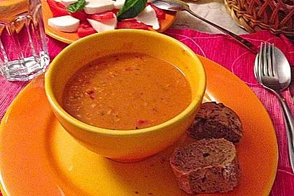 Rote Linsen - Kokos - Suppe 15