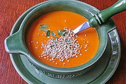 Rote Linsen - Kokos - Suppe 1