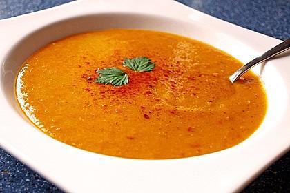 Rote Linsen-Kokos-Suppe 3