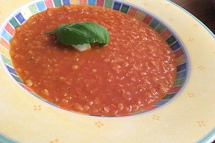 Rote Linsen-Kokos-Suppe 34