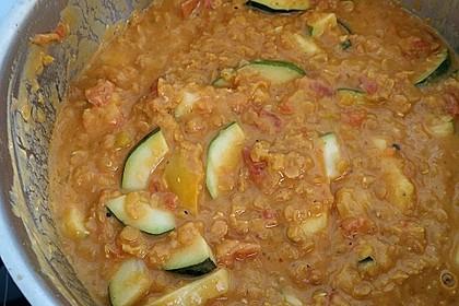 Rote Linsen-Kokos-Suppe 61