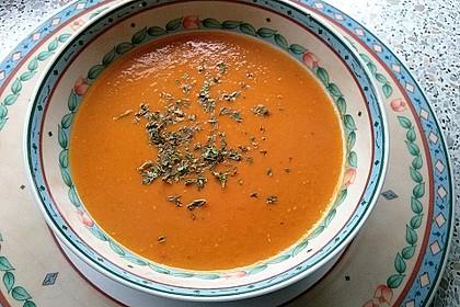 Rote Linsen-Kokos-Suppe 11