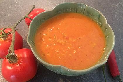 Rote Linsen-Kokos-Suppe 13
