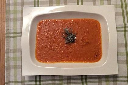Rote Linsen - Kokos - Suppe 9