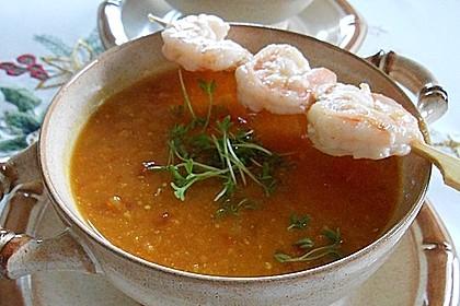 Rote Linsen-Kokos-Suppe 7