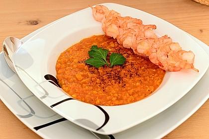 Rote Linsen-Kokos-Suppe 2