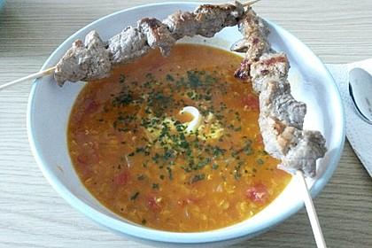 Rote Linsen - Kokos - Suppe 26