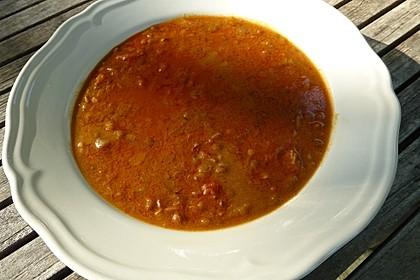 Rote Linsen-Kokos-Suppe 36
