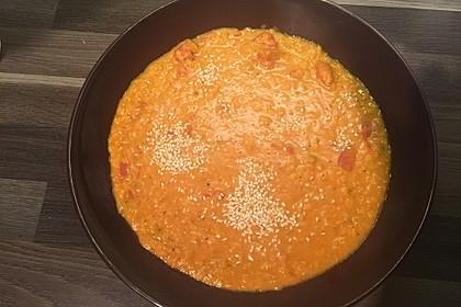 Rote Linsen - Kokos - Suppe 29