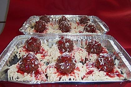 Meatball Spaghetti Cupcakes