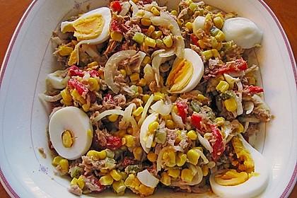 Thunfisch - Mais - Salat 2
