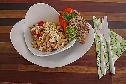 Thunfisch - Mais - Salat