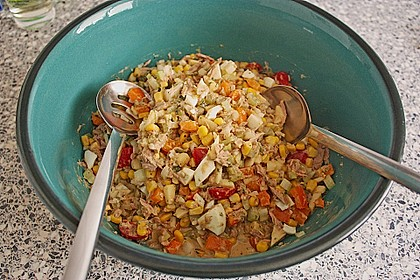 Thunfisch - Mais - Salat 4