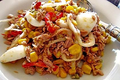 Thunfisch - Mais - Salat 1