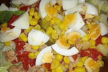 Thunfisch - Mais - Salat 5