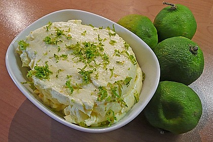 Butter mit Zitronen - Limettenaroma