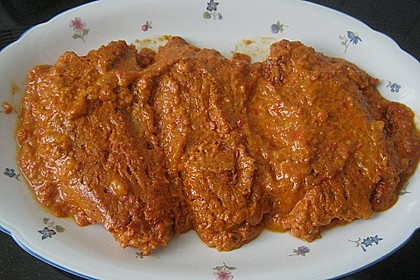 Schnitzel in Paprika - Rahmsauce 13