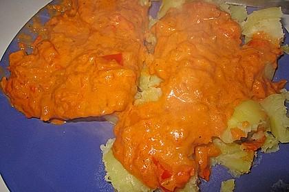 Schnitzel in Paprika - Rahmsauce 15