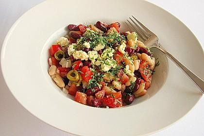 Kidneybohnensalat 1