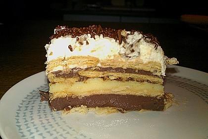 Adrianas Pudding - Kekskuchen