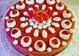 Apfel - Biskuit - Kuchen