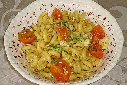 Nudelsalat mit Pesto alla Genovese 1