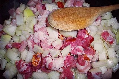 Bauernfrühstück Hamburger Art als Auflauf 6