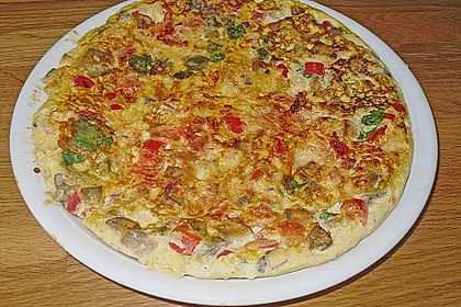 Gemüse - Frittata