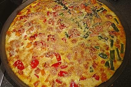 Gemüse - Frittata 2