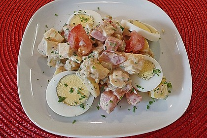 Tomaten - Kartoffelsalat 1
