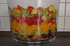 Süßer Schichtsalat