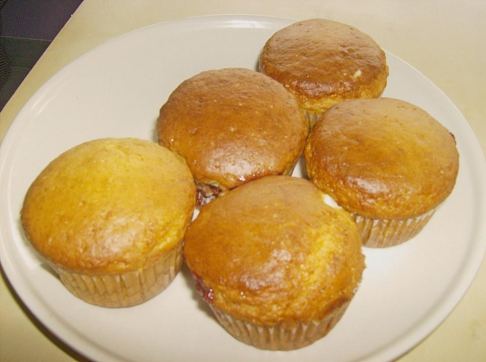 Käsekuchen - Kirsch - Muffins (Rezept Mit Bild) Von Prombear