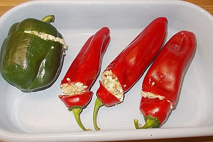 Gefüllte Spitzpaprika mit Couscous 44