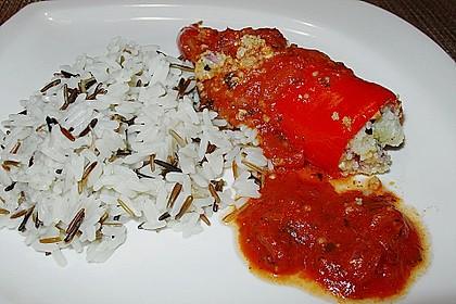 Gefüllte Spitzpaprika mit Couscous 17